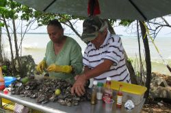 Oyster and Clam Vendors